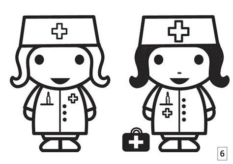 imagenes para colorear hospital dibujo para colorear busca las diferencias enfermera