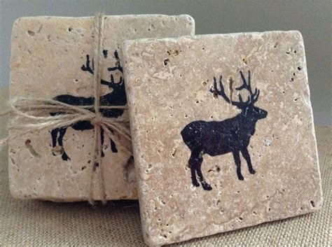 hunting gifts deer gifts coasters christmas gift