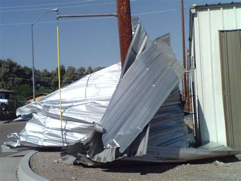 boat storage in needles ca picture of property damage to storage facility caused by