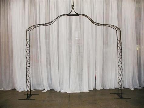 Wedding Arch Rental Nashville Tn by Black Wrought Iron Crown Point Arch Rentals Murfreesboro