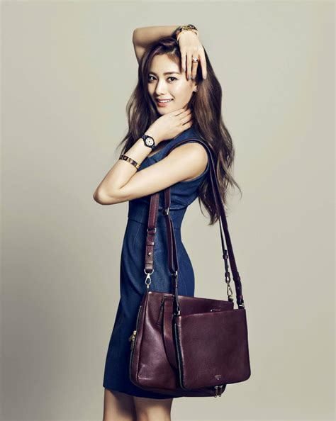 Fossil Korean Style after school s nana looks stunning for quot instyle korea quot