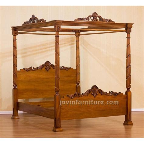 four poster canopy bed antique 4 poster bed frame home