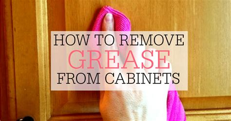 how to clean grease and grime kitchen cabinets how to remove grime from kitchen cabinets how to clean