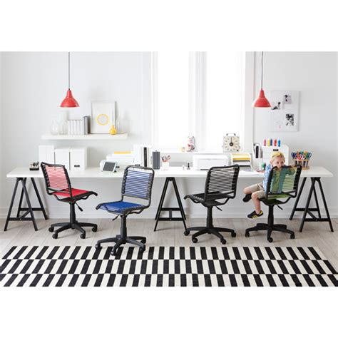 container store desk chair berry pink bungee office chair the container store