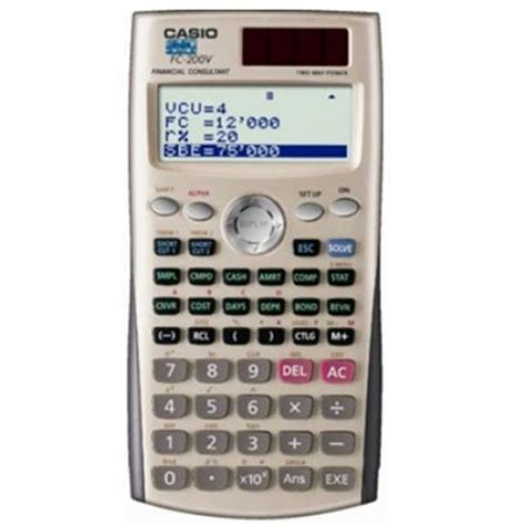 Casio Fc 100v Financial Consultant Calculator casio financial consultant calculator price in pakistan buy casio in pakistan payless pk