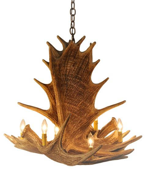 Moose 4 Antler Chandelier Cast Horn Designs Moose Antler Chandelier