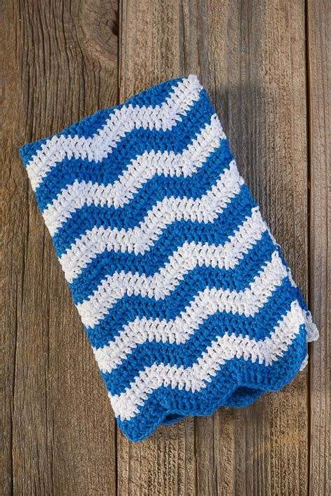 pattern crochet dish towel ripple crochet dish towel pattern