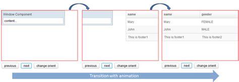 card layout java exle zk zk component reference layouts cardlayout documentation