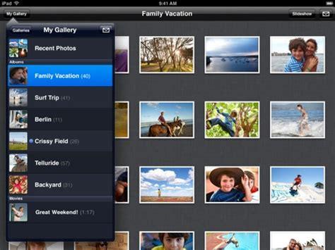 mobile me app apple s mobileme gallery app now compatible mac