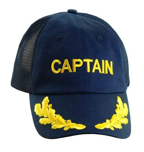 Captain Cap Cooper 2 dorfman pacific captain baseball cap hats unlimited