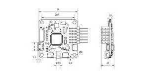 openpilot cc3d revolution flight controller with oplink flying tech