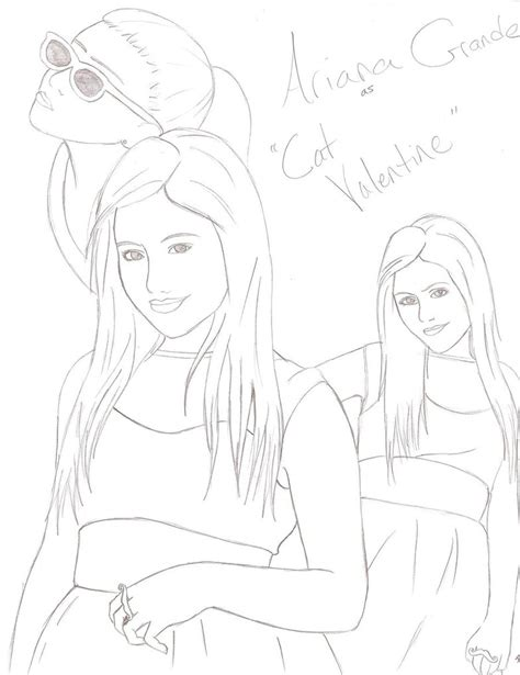 ariana grande coloring pages coloring pages