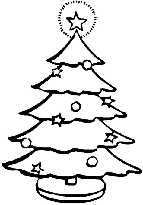 christmas tree  drawing   clip art