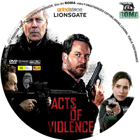 Acts Of Violence 2018 Original covers box sk acts of violence 2018 high quality dvd blueray