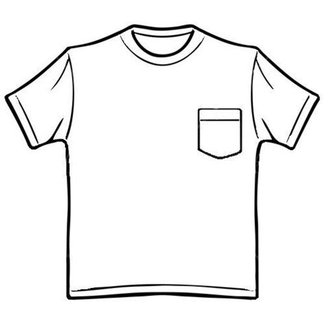 t shirt with pocket template pocket t shirt template pocket template printable
