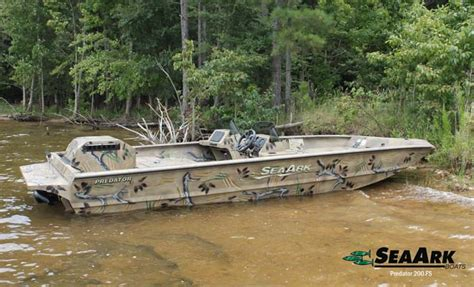 ark boat recipe seaark predator fs series 2016 virtual boat show fish