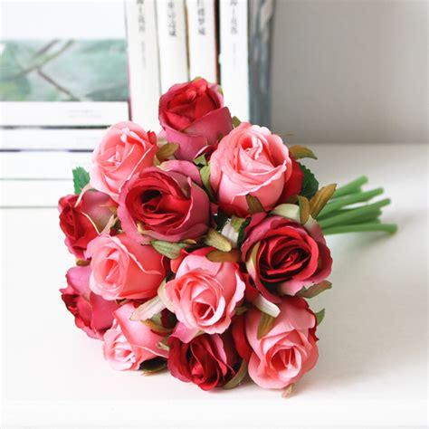 wholesale cheap artificial bridal wedding bouquet