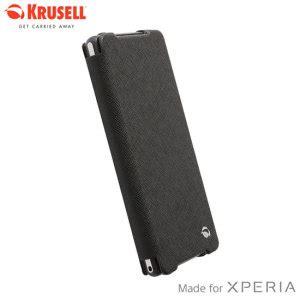 Krusell Malmo Flipcase Blackberry Q20 Classic Black krusell malmo flipcover for sony xperia z2 black