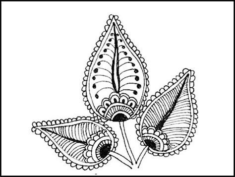 henna tattoo branson mo henna indian design three leaves mo flickr