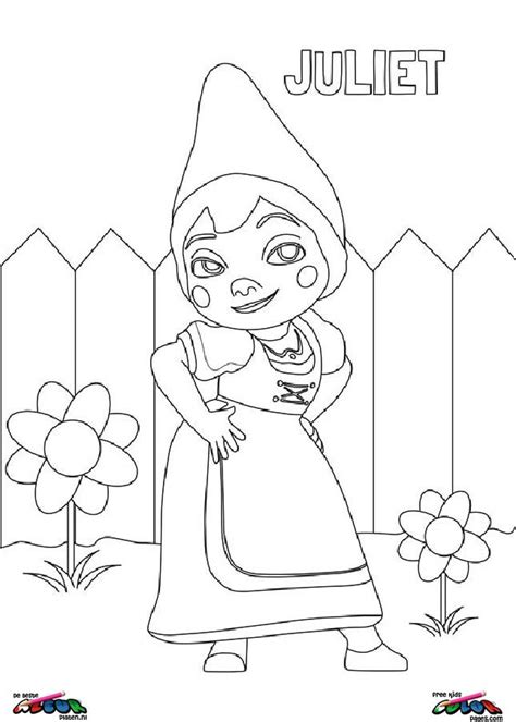 gnomeo and juliet coloring pages games gnomeo and juliet003 printable coloring pages