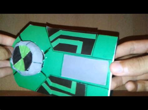 How To Make A Paper Ben 10 Ultimatrix - ben 10 ultimate paper ultimatrix new version