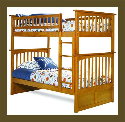 Bunk Beds For Kids Bunkbed Twin Over Twin Boys Or Bunk Bed Ebay