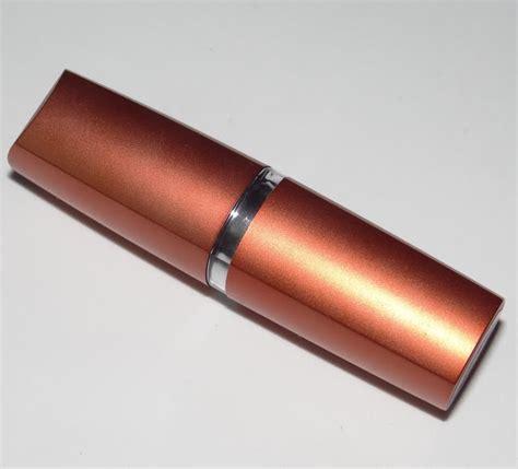 Lipstick Bronze Orange Maybelline maybelline colorsensational bronze orange lip color review swatches chamber of