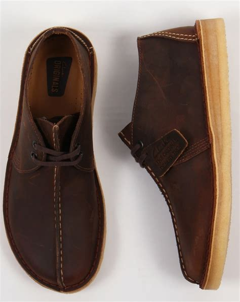 Original Clarks Preloved Shoes clarks originals desert trek shoes beeswax