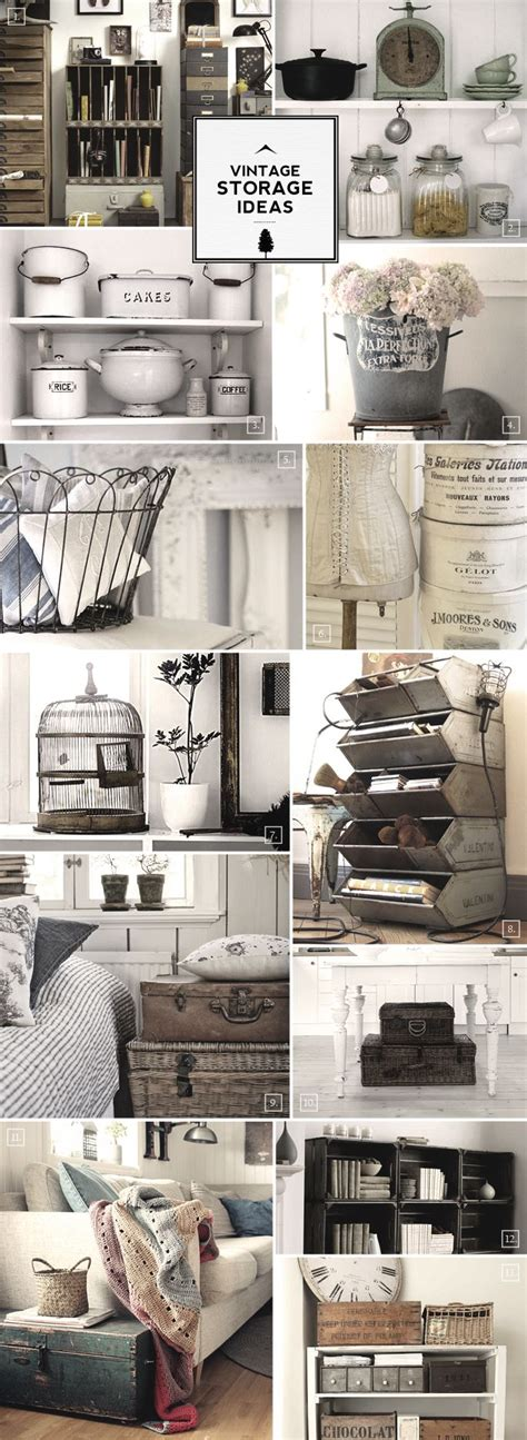 vintage storage ideas our home decor