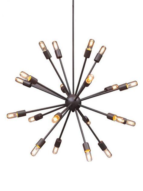 Black Sputnik Chandelier Sputnik Black Metal Chandelier Modern Furniture