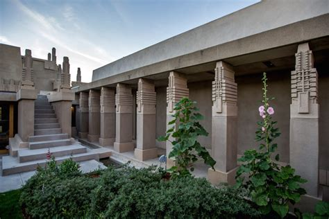 hollyhock house plan lessons from wright s hollyhock house restoration time