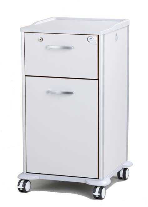 Locker Drawers by Enterprise 2 Drawer Patient Bedside Locker In Grey