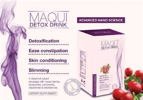 Maqui Detox Ingredient maqui detox slimming drink i end 2 18 2018 3 15 pm