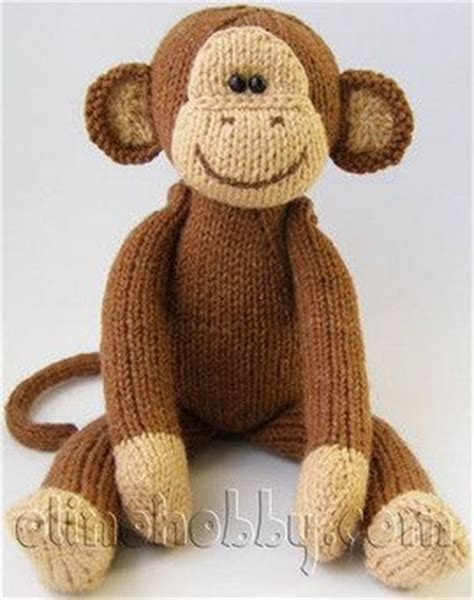 monkey knitting pattern free knitted monkey but i like his for a crochet one