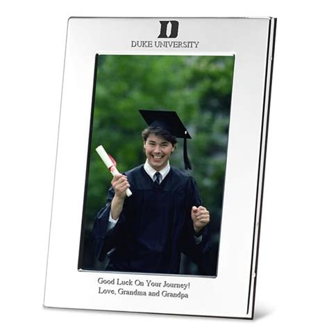 Georgetown Mba Diploma Frame by Duke Polished Pewter 4x6 Picture Frame Graduation Gift