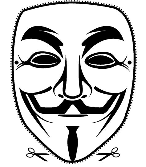 printable anonymous mask 3 high quality printable vendetta guy fawkes mask cut out