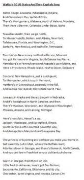 50 states song alphabetical order quotes quotes