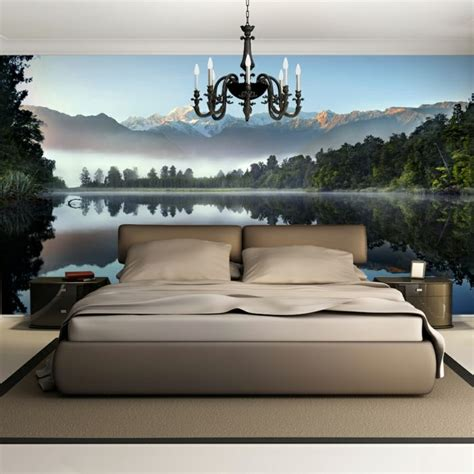 Wanddekoration Ideen Wohnzimmer 657 die besten 25 fototapete schlafzimmer ideen auf