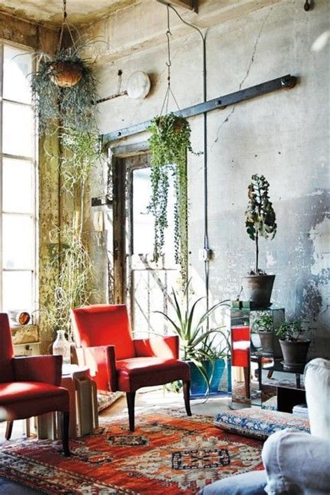 bohemian living room greenspiration botanical decor 20 pics messagenote