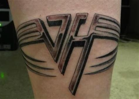 my vh tattoo sammy hagar the red rocker
