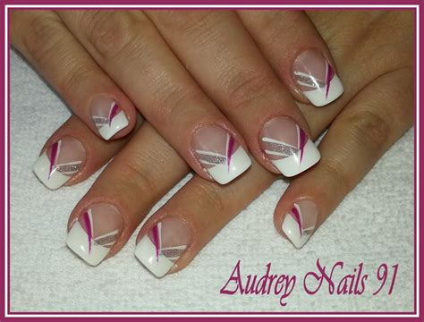 Modèle Ongles Gel Fantaisie by Album 2 Institut De Beaut 233 Nails 91