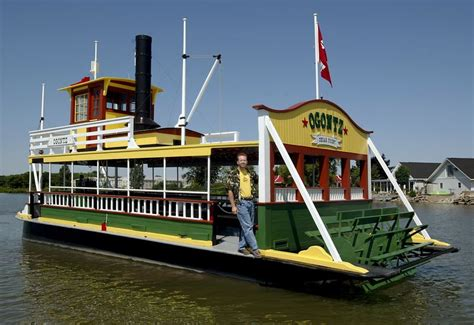 paddle wheeler trolls in cedar point s wake the blade - Paddle Boat For Sale Toledo Ohio