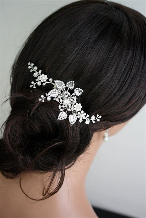 Wedding Hair Accessories Swarovski by Bridal Hair Comb Wedding Hair Wedding Hair