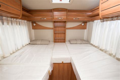 Latest Bed Design hymer exsis t 588 review hymer motorhomes practical