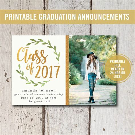 sles of high school graduation invitations top 25 best college graduation announcements ideas on
