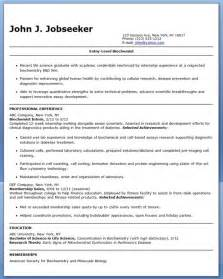 sle resume for molecular biologist