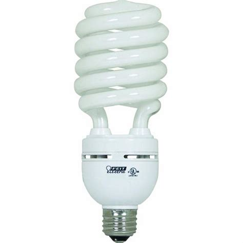 cfl lights home depot feit electric 150w equivalent daylight 6500k spiral cfl