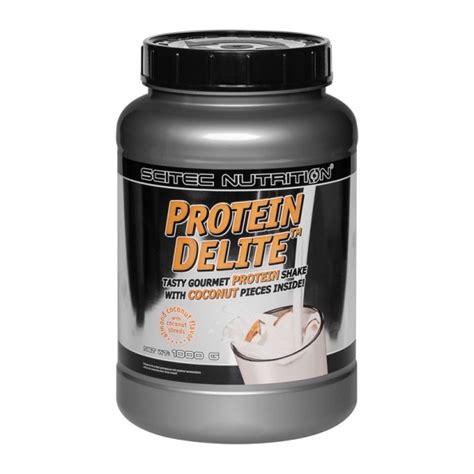 Protein Delite Scitec Nutrition 2 2 Lbs 1kg Original scitec protein delite coco almonds powder protein