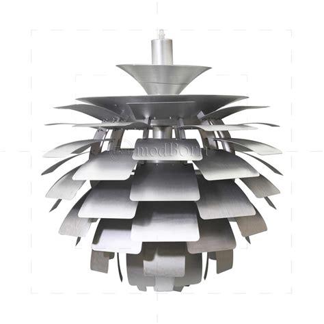 Modern Dining Room Furniture Uk - poul henningsen style artichoke lamp silver