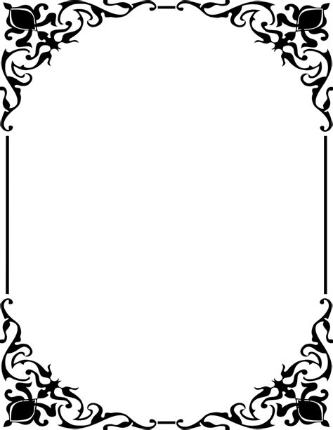 Fancy Bingkai Foto Frame Foto Karakter ornamental frame border page frames old ornate borders